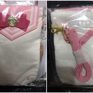 粉紅色靚靚美少女戰袋仔