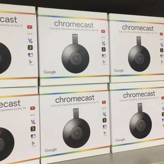 Google Chromecast V3第二代HDMI媒體串流播放器