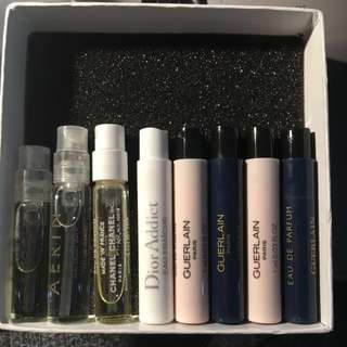 Perfume Samples Chanel YSL Dior Guerlain