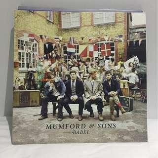 MUMFORD AND SONS VINYL BABEL ALBUM