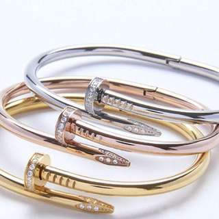 Nail Bangle 3 colors Available come with box