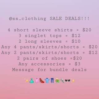@ss_clothing sale deals!!