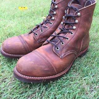 Red Wing Iron Ranger (Copper Rough)