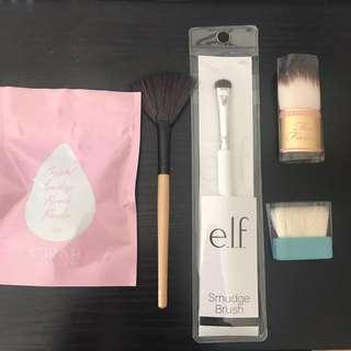 Bundle set: sillisponge + 4 brushes