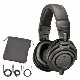 全新 Audio Technica M50x 限量版 灰色 Matte Gray