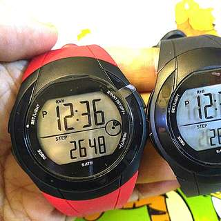全新3D 多功能計步防水数字手錶-Brand New 3D Multi Function Pedometer Water Resistance Digits Watch