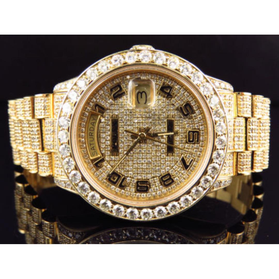 Rolex Fully Diamond