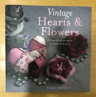 Vintage Hearts and Flowers book