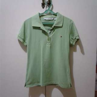 TOMMY Green Polo Shirt