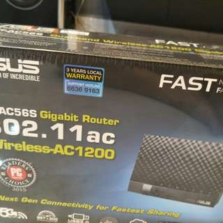 Isus RT-AC56S gigabit router