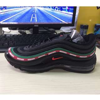 Nike Air Max 97 x Undefeated - Black