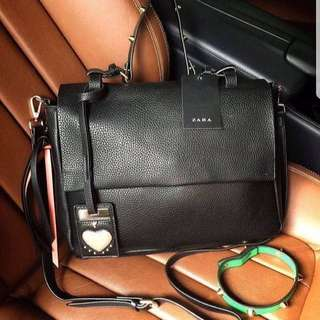 ZARA LEATHER OFFICE ORIGINAL