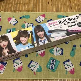 日本雜誌popteen X queens iron 捲髮梳(可議價)