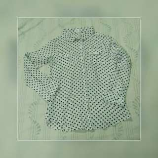 Cotton On polka dots long sleeve