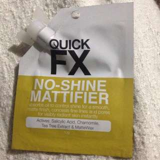QUICK FX NO SHINE MATTIFIER
