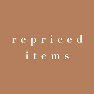 REPRICED EVERY ITEM LISTED!