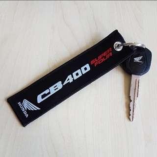 Honda CB400 Super Four Keychain