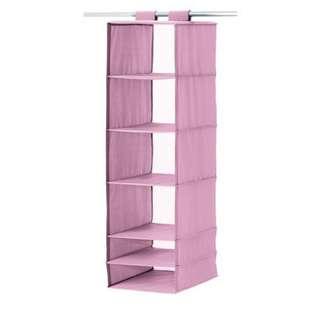 (降價,限面交)IKEA SKUBB 衣物收納掛袋與分隔收納盒(粉紫色)