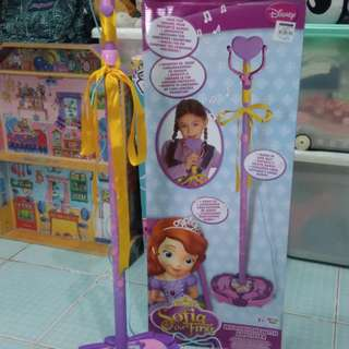 Disney Sofia the First Microphone with amplifier