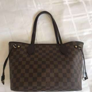 Authentic Louis Vuitton Damier neverfull PM