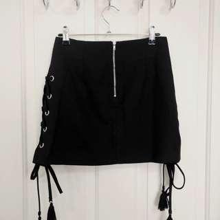 SLIDE SHOW Black Skorts - Size 6 Brand New