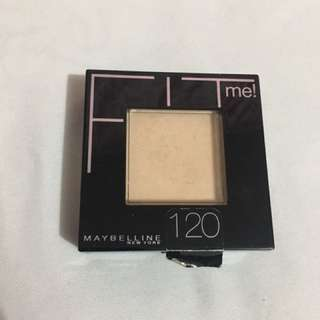 Maybelline Fit me (120 Classic Ivory)