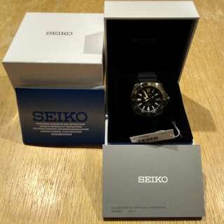 New Seiko Samurai SRPB55 price reduced/trade in also accepted (looking for Tissot Automatic/Chrono)