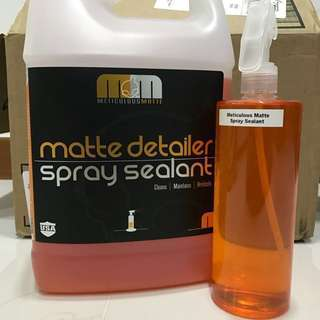 [Sold Out] Matte Spray Sealant Meticulous Matte
