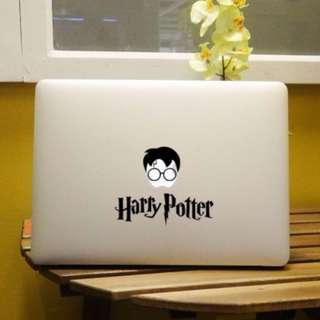 [FREE DELIVERY] Big Head Harry Potter Computer Car Wall Skin Laptop Vinyl Stickers for Macbook