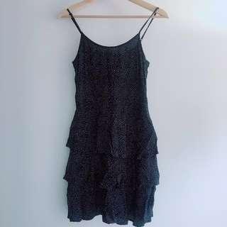 Forever21 Polka Dot Ruffle Dress