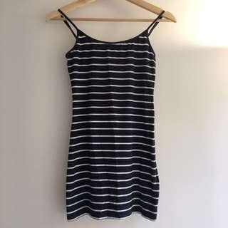 H&M Striped Little Dress