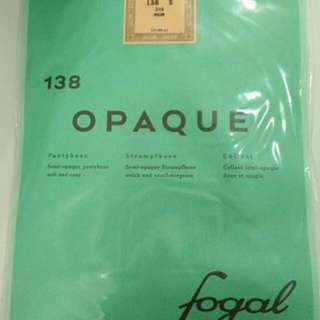 全新Fogal 黑色絲襪褲