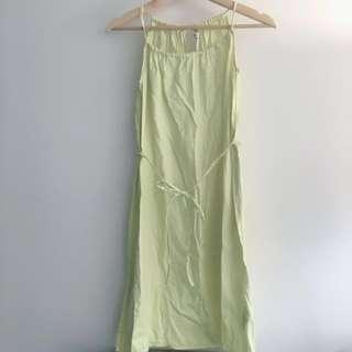 H&M Lime Green Lightweight Dress