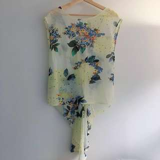 Butterfly Tail Top