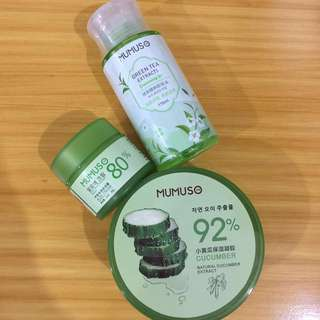 Mumuso Skin Care Products