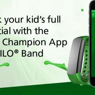 Milo® Champion Fitness Band