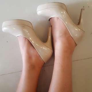 Nude heels uk 37 Rob's shoes