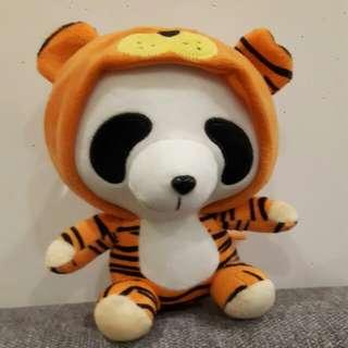Panda As A Tiger