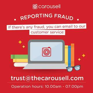 Email trust.my@thecarousell.com