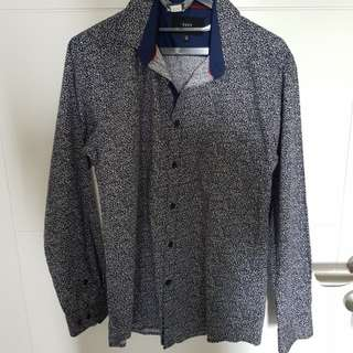Kent Shirt Slimfit (Batik Style)
