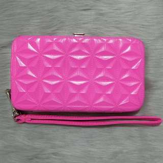 Claire's Pink Wallet / Phone Case