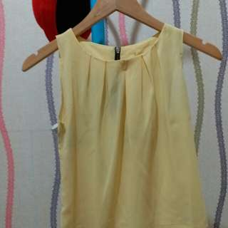 blouse u can see kuning