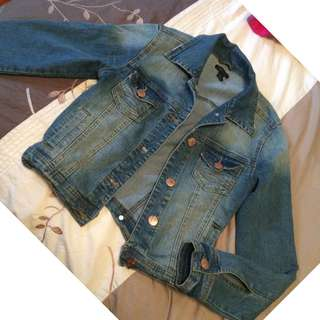 Small sized jean jacket