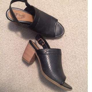 (Size 6/7) black heels