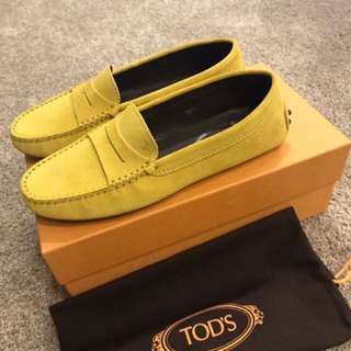TOD'S 女鞋.全新購於義大利.有購證