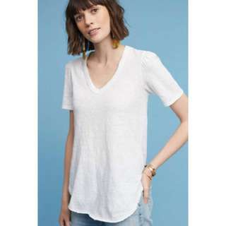 Anthropologie Outfield V-Neck Tee size S