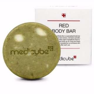(Instock) Medicube Red Body Bar Soap (Original Size)