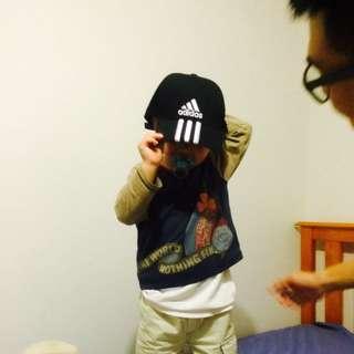 Adidas 黑色老帽