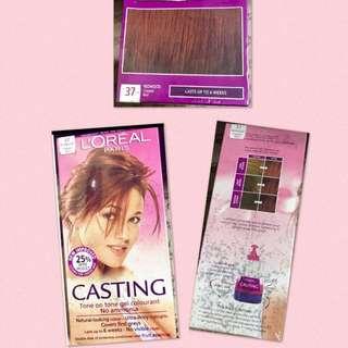 Loreal Paris Casting Redwood Copper Red Hair Color