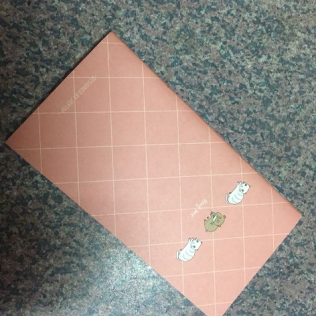 3 tote notebooks blank unlined pages